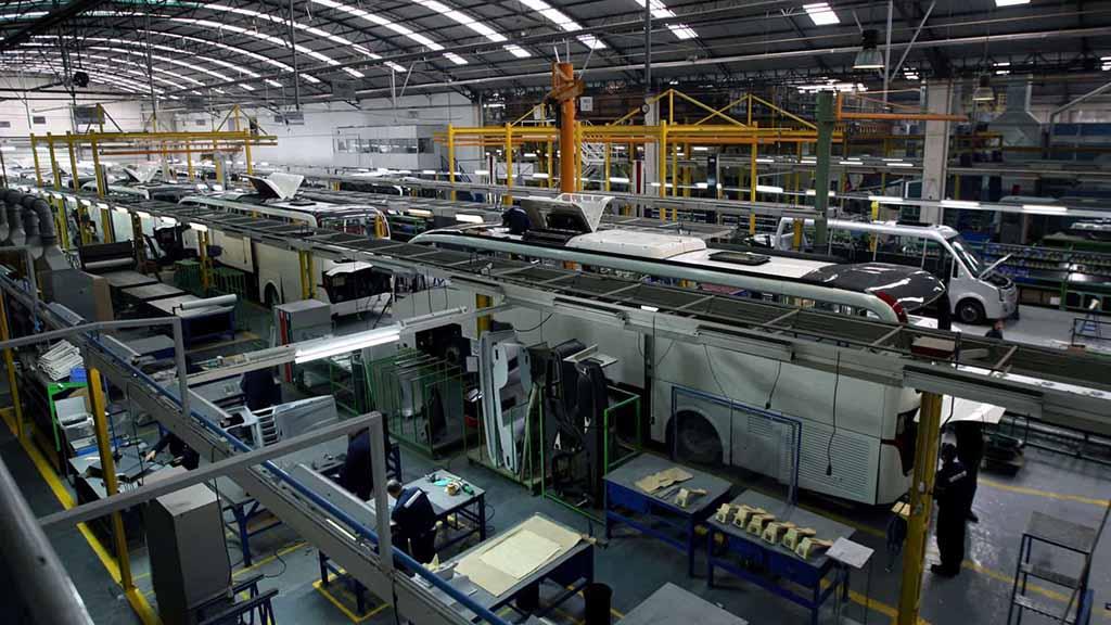 A CaetanoBus tem fábricas em V.N. Gaia e Ovar