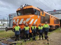 Medway M&R faz revisão de locomotivas diesel