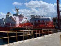 Sines recebeu navio tanque a GNL