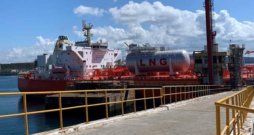 Sines é um importante hub de GNL