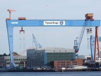 Alemanha estuda fusão de estaleiros navais