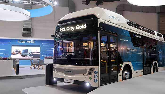 CaetanoBus vende os primeiros H2 City Gold