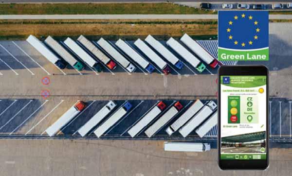 App permite aos motoristas partilhar informações sobre o tráfego nas fronteiras