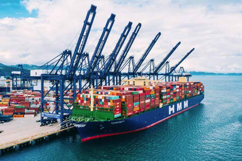 A THE Alliance conta agora com a HMM e o maior navio do mundo