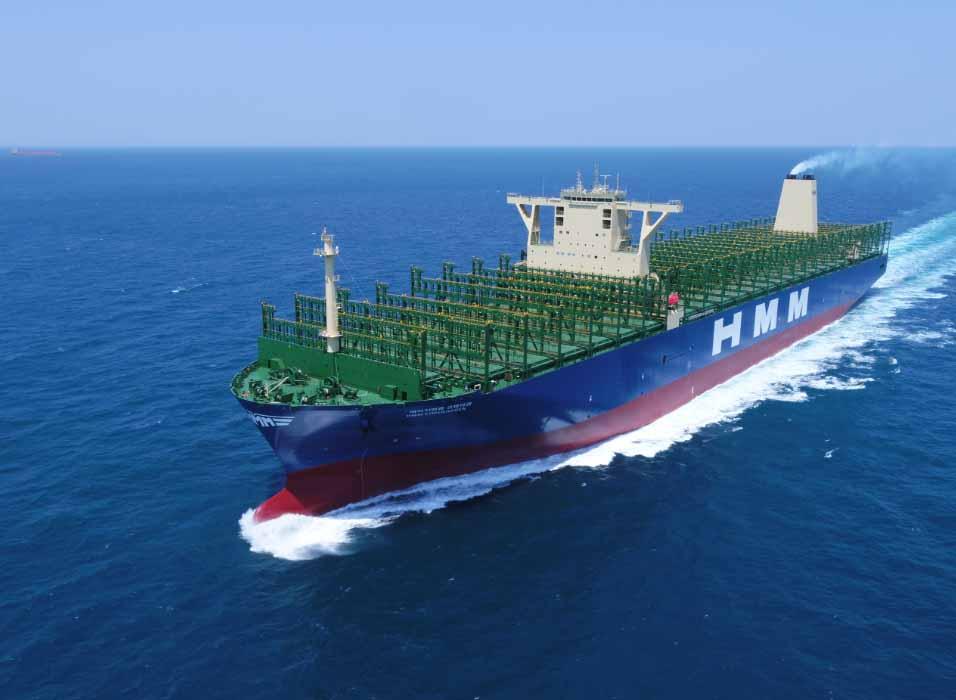 HMM recebe segundo navio de 24 mil TEU