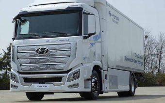 Hyundai entrega primeiros camiões a hidrogénio