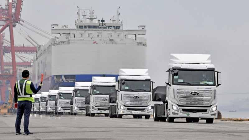 Hyundai prevê entregar 50 camiões a hidrogénio este ano
