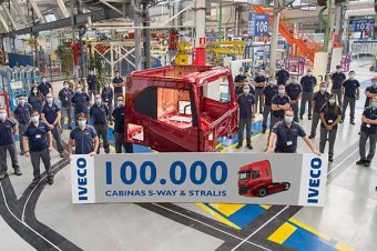 Iveco produziu 100 mil cabinas em Valladolid