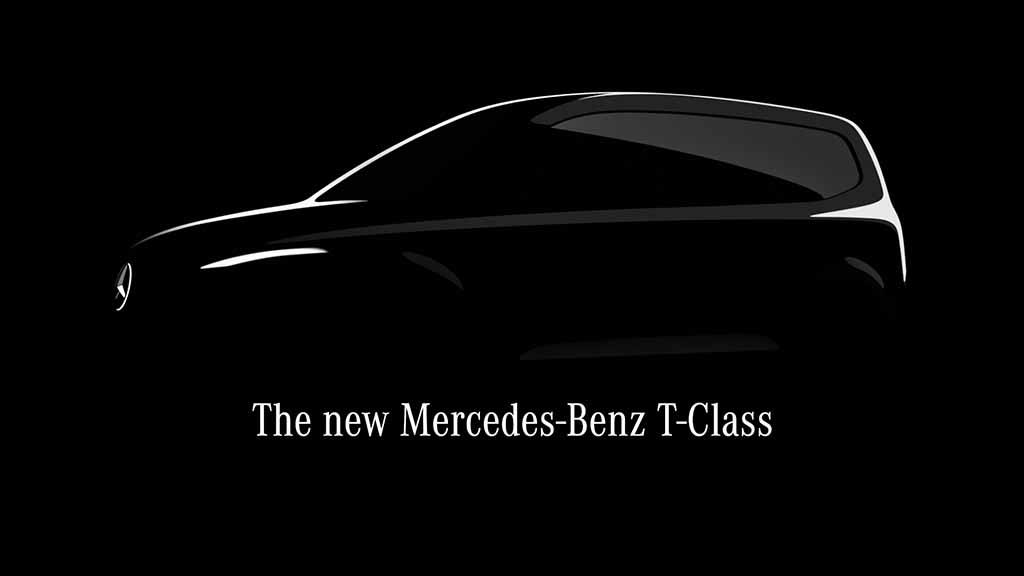 Classe T será o monovolume Mercedes da gama baixa