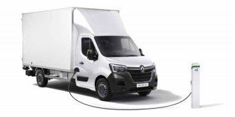 Renault Master ZE com versão chassis-cabine
