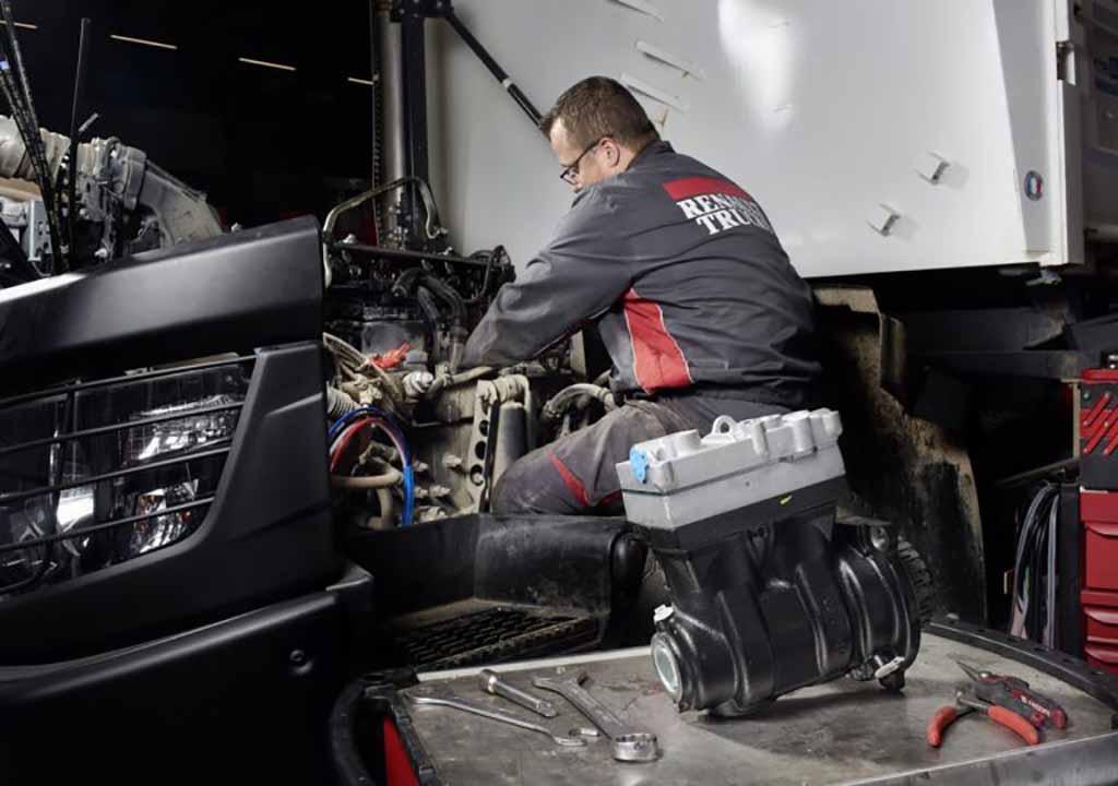 Galius propõe novos contratos de manutenção da Renault Trucks