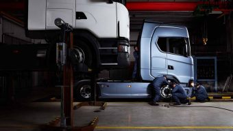 Scania financia reparações sem juros