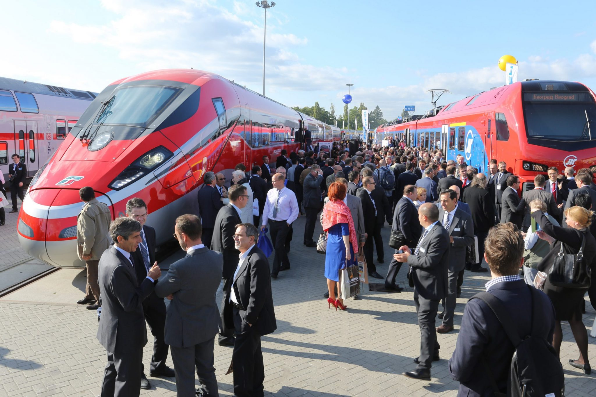 A Innotrans transforma Berlim na capital mundial da ferrovia
